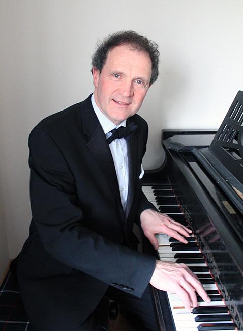 Martin at the piano